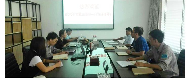 致和环境科技(江苏)有限公司通过ISO9001审核认证